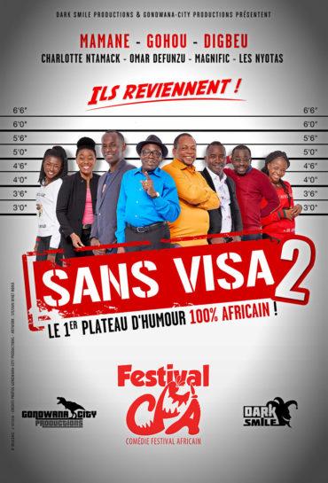 Affiche sans visa 2 Gondwana TV