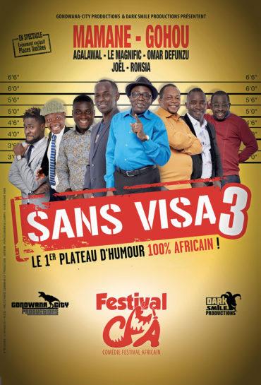 Affiche sans visa 3 Gondwana TV