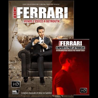 streaming spectacle et docu jérémy ferrari